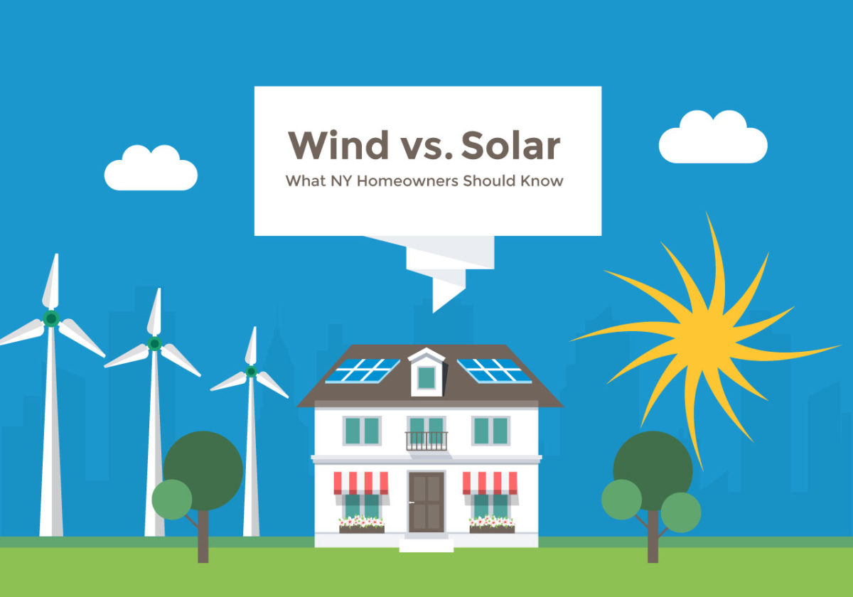 Cost of Wind vs. Solar Power: What NY Homeowners Should Know
