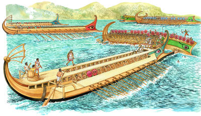 What was a trireme