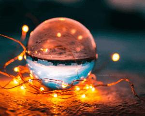 creative photography ideas lens glass ball 80mm