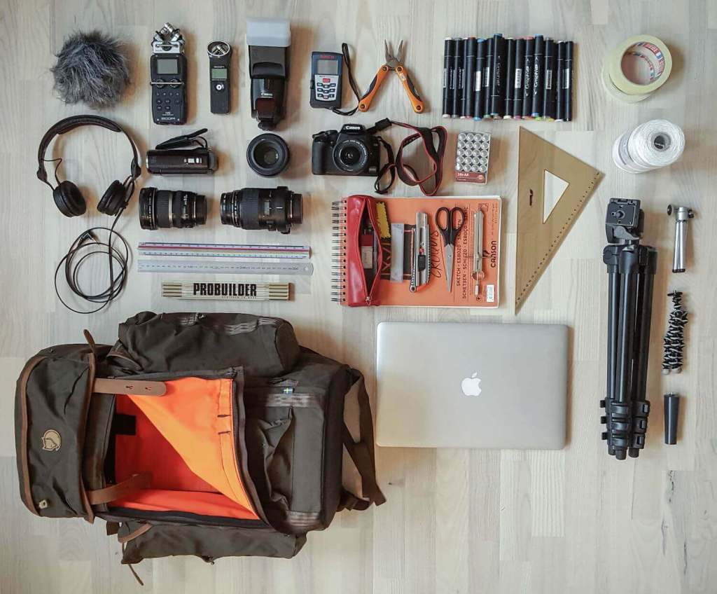 Pontus Bunker Documenter Camera gear
