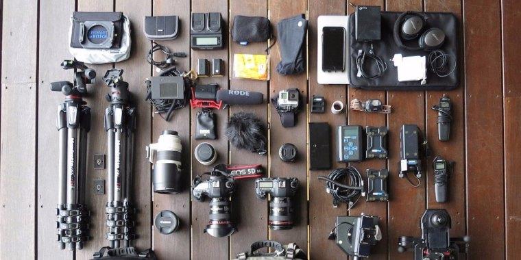 timelapse photographer camera gear with matjoez