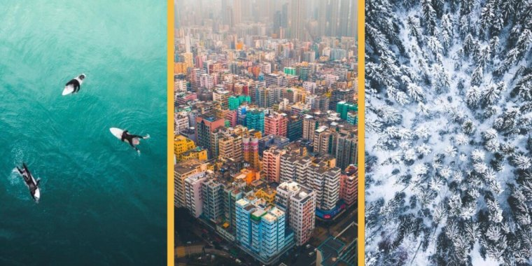 drone wallpapers from best aerial photographers