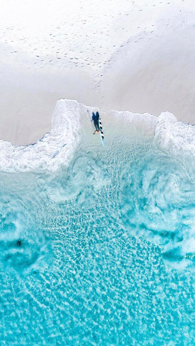 Josh Burkinshaw Surf Wallpaper