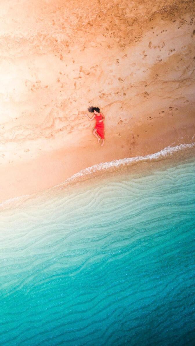 yantastic drone image beach