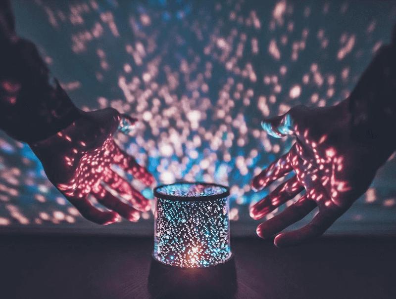 Starry LED Projector Lamp brandon woelfel