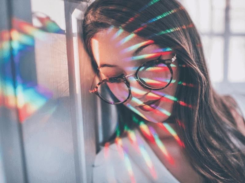 rainbow prism portraits woelfel
