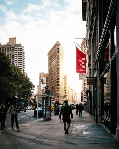 flatiron building new york city photography