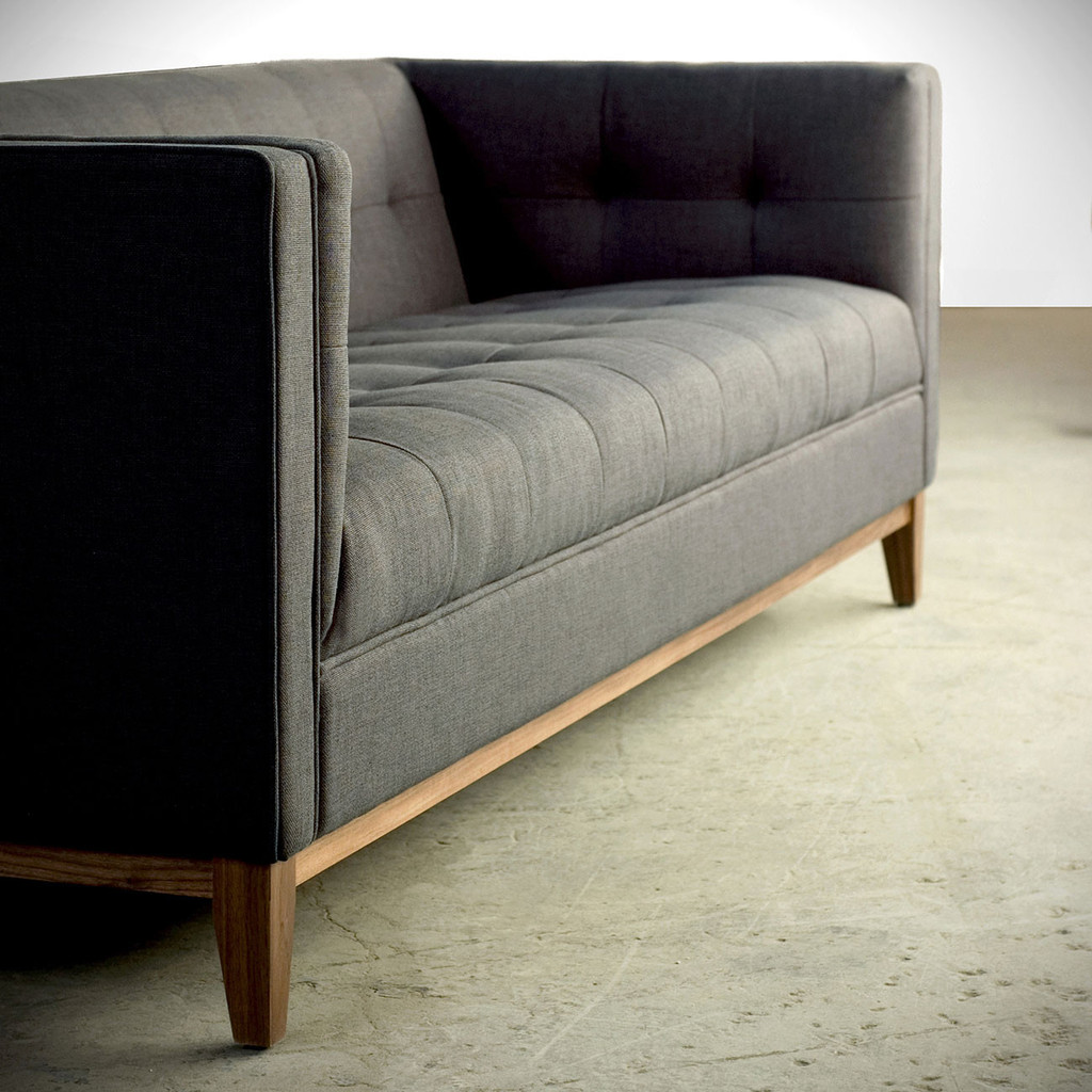 gus sectional sleeper sofa broyhill modern atwood grid furnishings