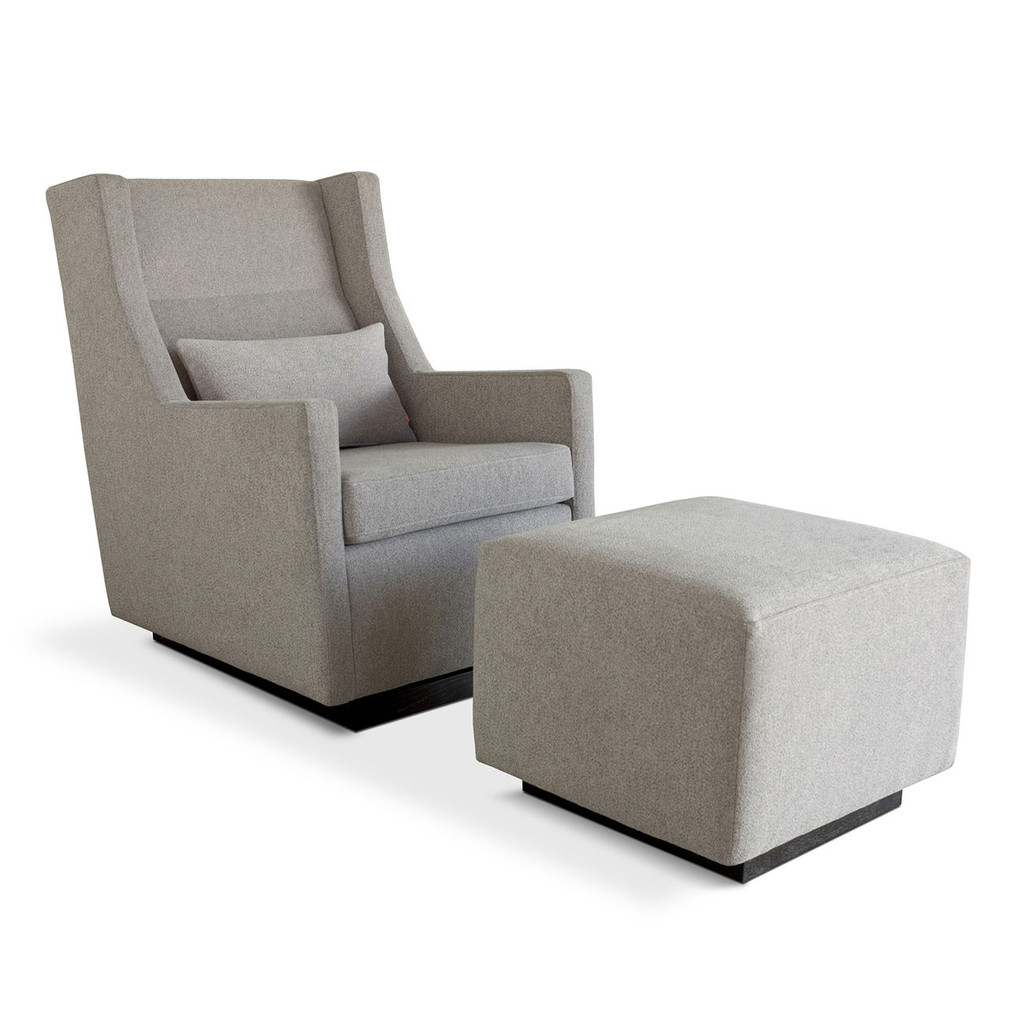 Glider Chair And Ottoman Gus Modern Sparrow Glider And Ottoman Grid Furnishings