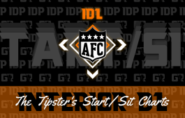 Fantasy Football IDP WK15 Interior Defensive Lineman AFC Start/Sits