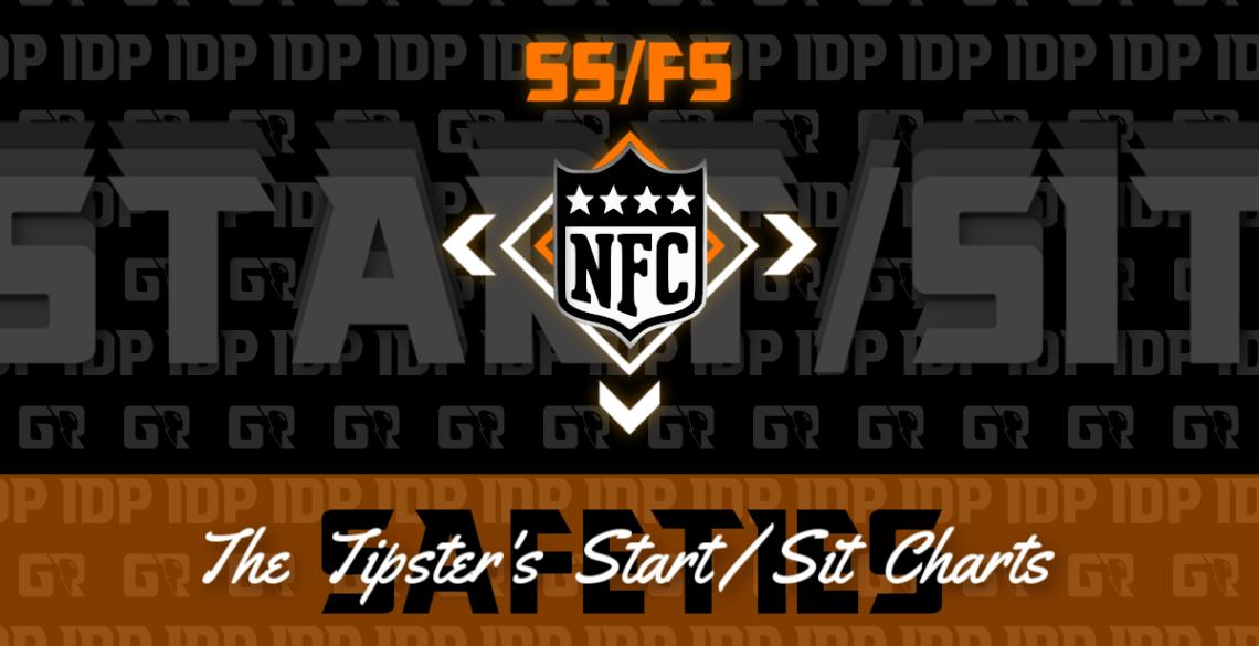 Fantasy Football's NFC Safety Championship WK16 IDP Start/Sit Chart