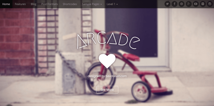 Arcade Basic WordPress Theme Screenshot