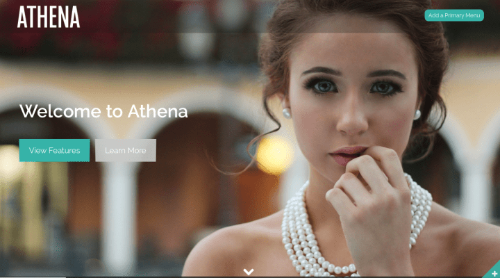 Athena WordPress Themes Screenshot