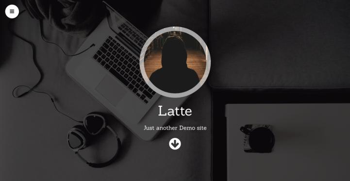 Latte WordPress Theme Screenshot