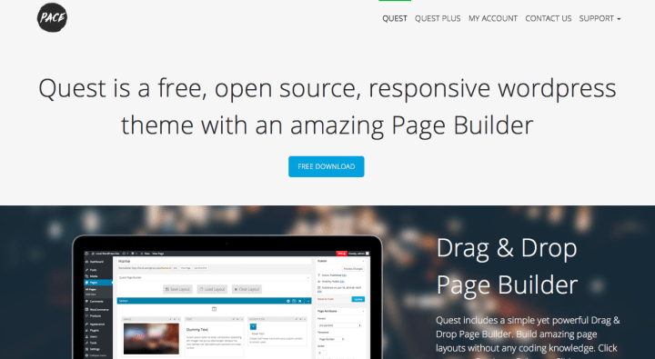 Quest WordPress Theme Screenshot