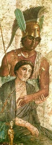 Άρης και Αφροδίτη σε τοιχο- γραφία της Πομπηϊας .jpg