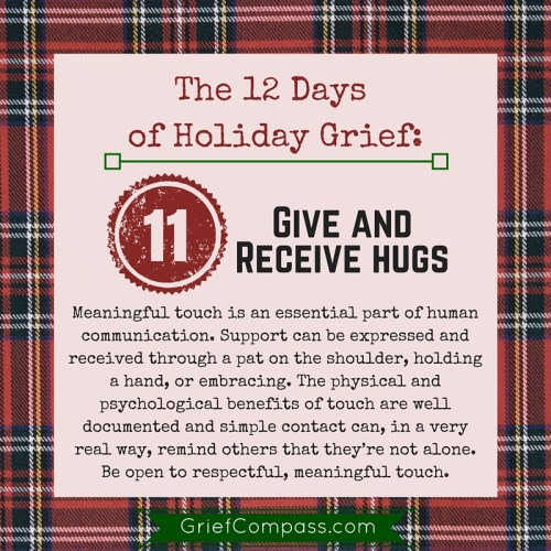 Grief Tips for surviving the holidays