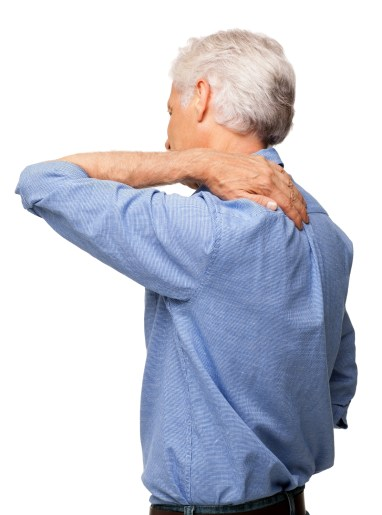 Man With Shoulder Pain - Isolated