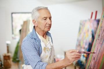 express grief through art