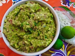 Guacamole made.