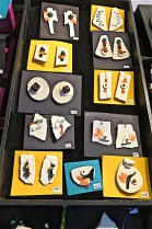 Porcelain clay earrings and brooches--what I was doing 29 years ago!