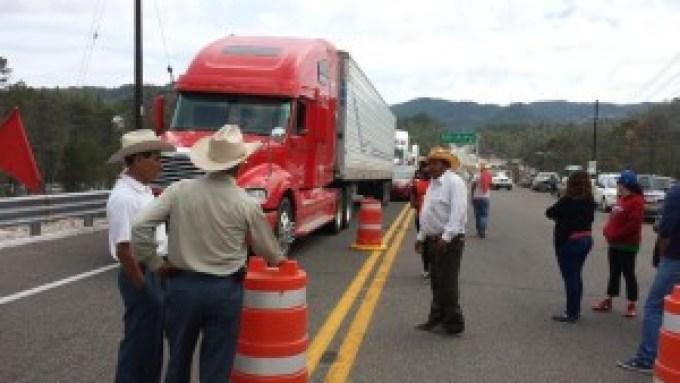 Ejidos súperautopista Durango