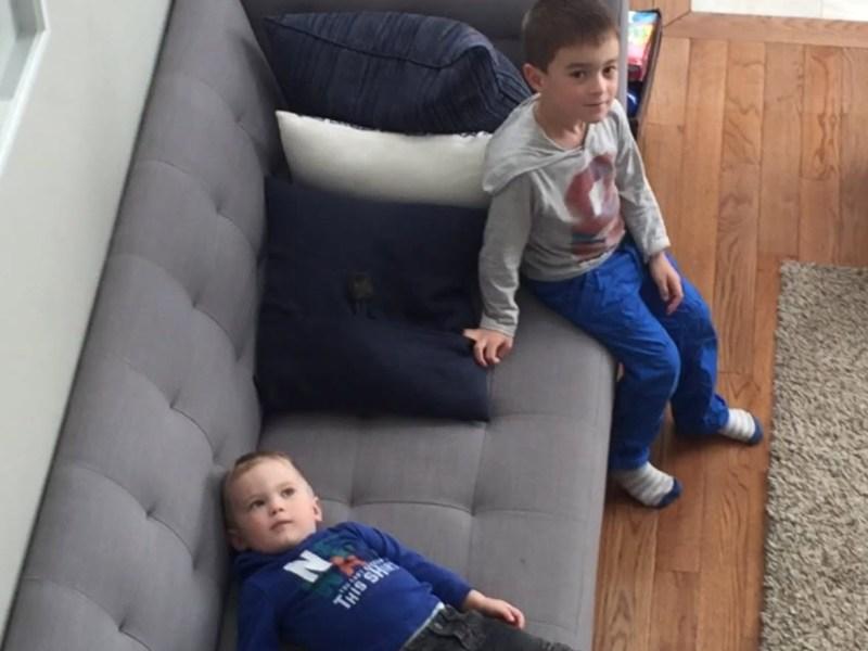 Zackaël et Maxandre