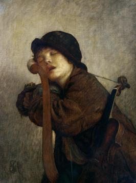 the-little-violinist-sleeping-antoine-auguste-ernest-hebert