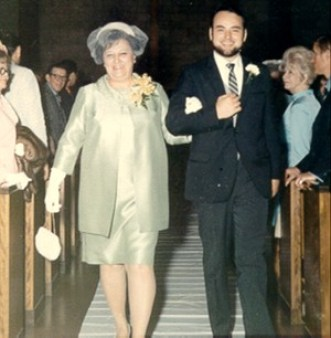 1970-05 Eileens Wedding