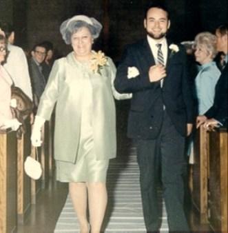 1970-05 Eileens Wedding