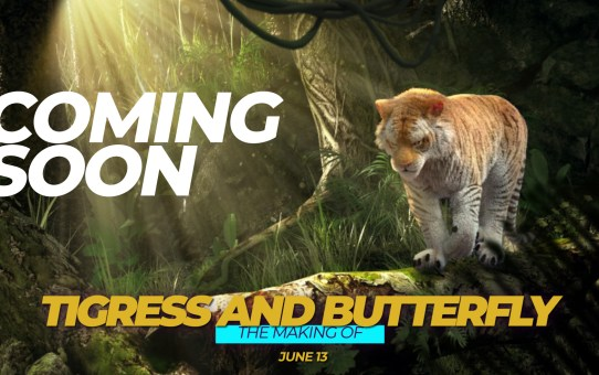 "WEBINAR | ""THE MAKING OF TIGRESS and BUTTERFLY"" 