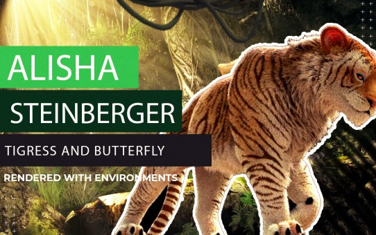 THE MAKING OF TIGRESS and BUTTERFLY - Rendered with Environments