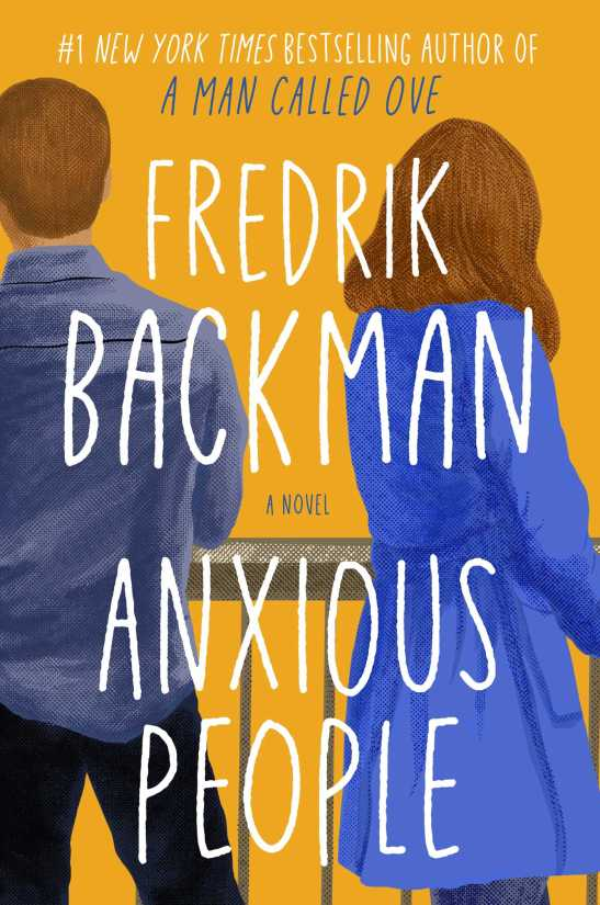 Image of book jacket for Anxious People