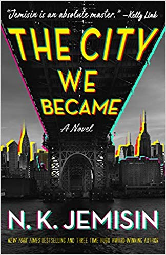 "Book jacket cover image for ""The City We Became""."