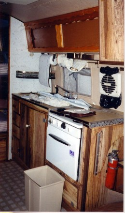 Lndr galley from door
