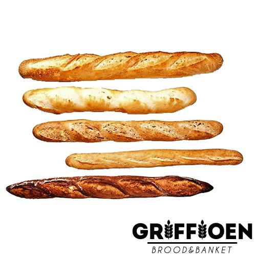 Griffioen Brood en Banket - Diverse-soorten-stokbroden