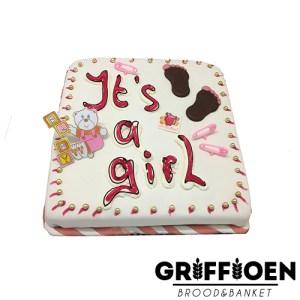 Griffioen Brood en Banket - Taart meisje