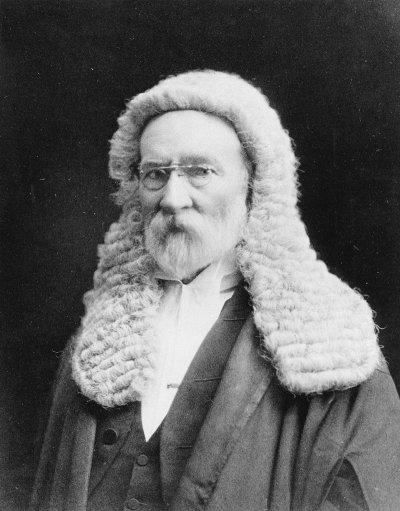 Sir Samuel Griffith - Portrait in Judges Attire   Griffith ...