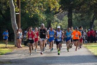 2015 Griffith Parth Trail Marathon Relay