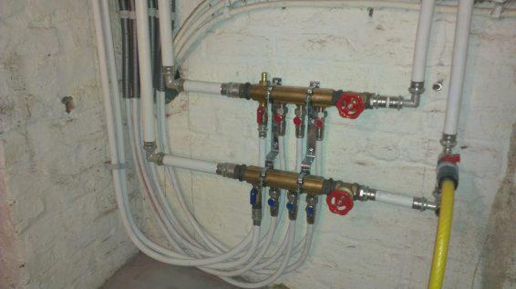 Installation circuit eau