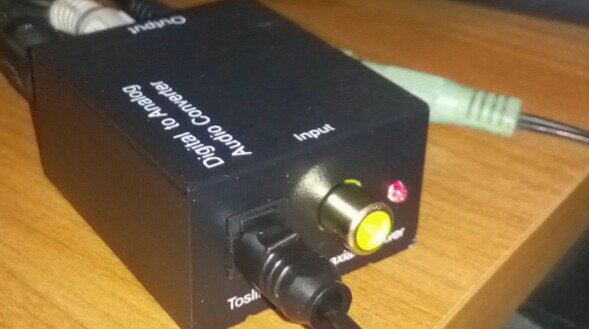 digital to analog audio converter from eBay