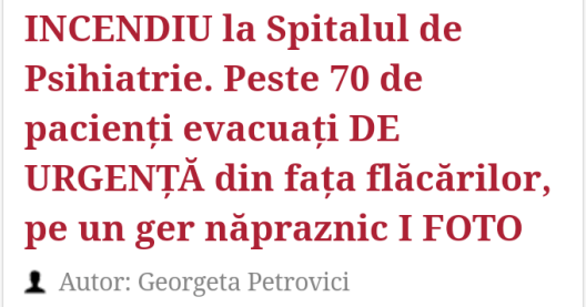 Georgeta Petrovici - Evenimentul Zilei
