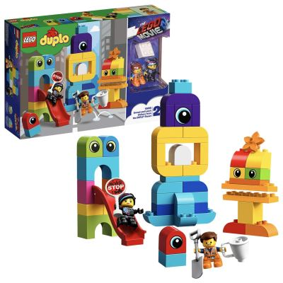 LEGO Emmet and Lucy's Visitors from The Duplo Planet