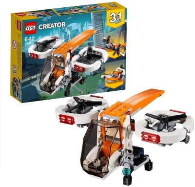 LEGO Creator 3in1 Drone Explorer Building Blocks