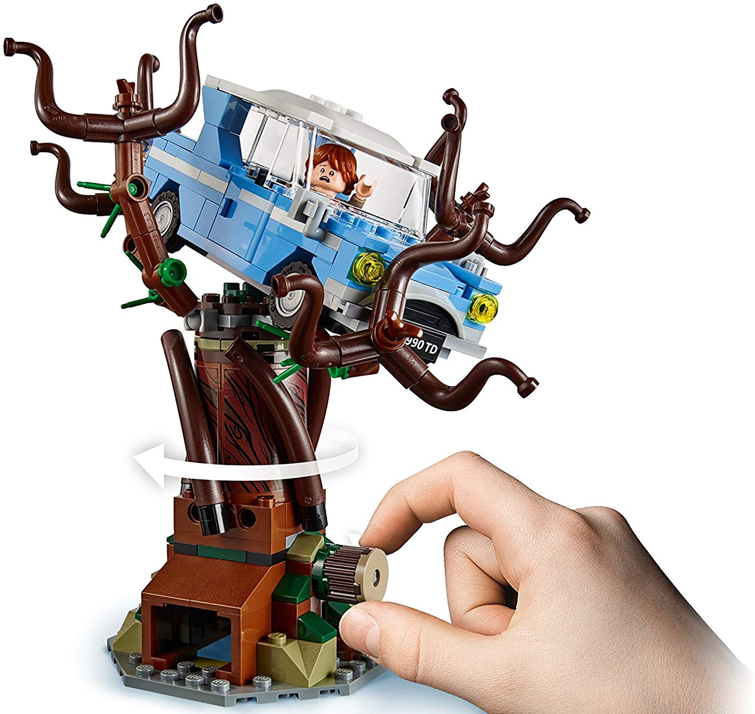Lego Harry Potter Minifigures Hogwarts Whomping Willow 75953 Snape Filch Weasley