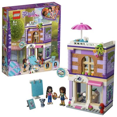 LEGO Friends Emma's Art Studio Building Blocks