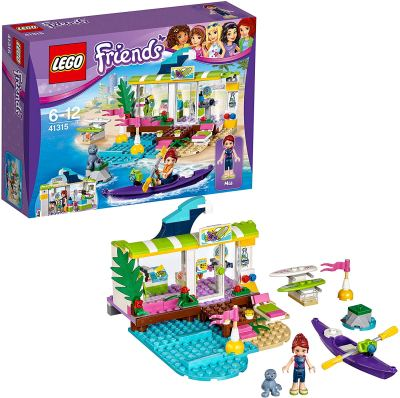 Lego Friends Mia's Heartlake Surf Shop Building Blocks