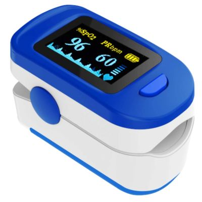 AccuSure OLED Finger Tip Blood Oxygen Saturation Monitor