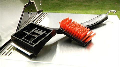 Стандартна щітка для гриля Medium з нейлоновим ворсом