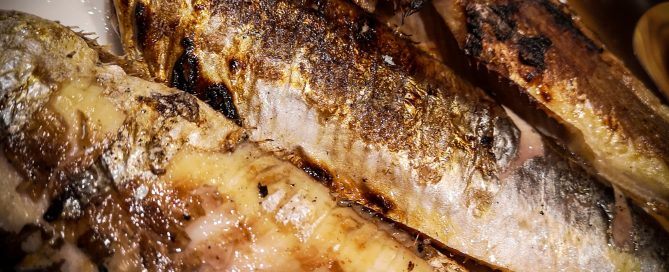 Grill sustainably - herring